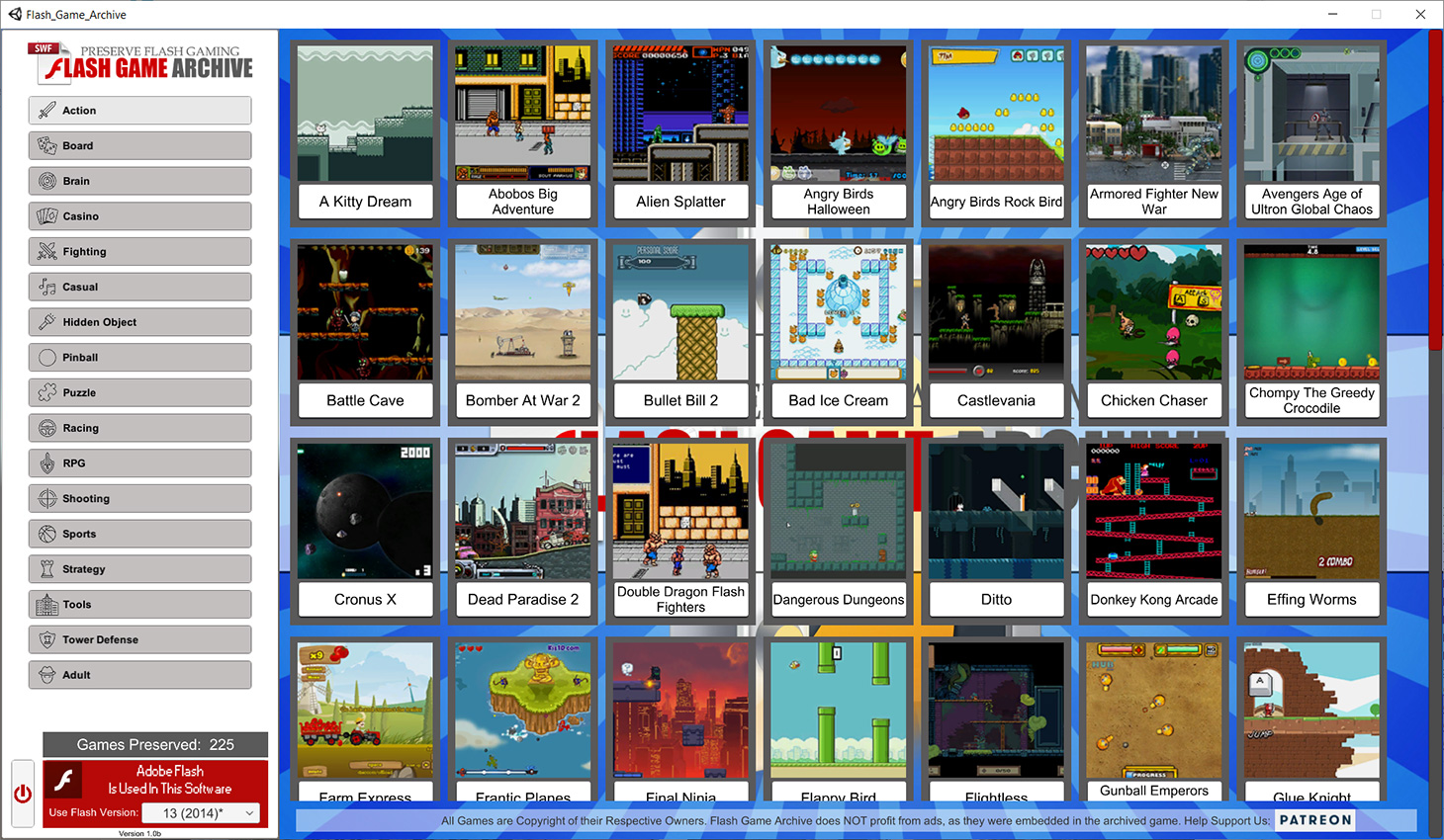 Flash Game Archive – Preserve Flash Gaming